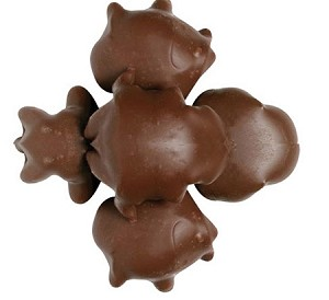 Sugar Free Milk Chocolate Pecan Turtles, 5 Pounds