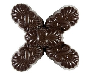 Gertrude Hawk Mark Avenue Hawk Chocolates, 70 Percent Cocoa Silk Truffles (7.5 Pounds)