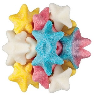 Gummy Star Fish, 6.6 Pounds