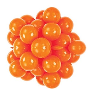 Oak Leaf Orange One Inch Gumballs, (Pack of 850)