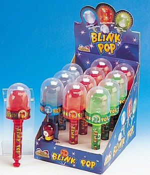 Blink Pops Lollipop Toy, (Pack of 12)