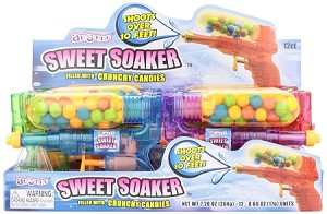 Sweet Soaker Novelty Candy Toy, (Pack of 12)