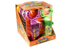 Grab Pop Candy Dispenser Novelty Candy Toy, (Pack of 12)