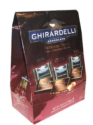 Ghirardelli Intense Dark Premium Chocolate Collection, (15.01 Ounce Variety Bag)