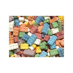 Candy Blox Blocks, 11 Pound Box