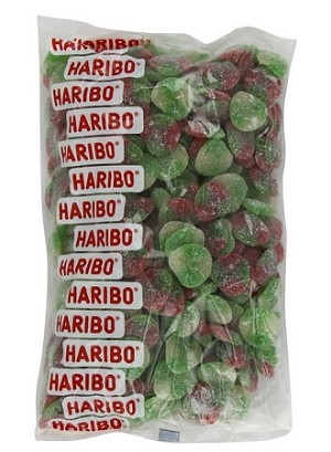 Haribo Gummy Apples, 5 Pound Bag