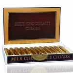 Madelaine Milk Chocolate Gold Foil Wrapped Cigars, (Pack of 24)