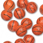Madelaine Chocolate Basketballs, (5 Pounds)