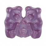 Albanese Concord Grape Purple Gummy Bears, 5 Pounds