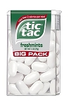 Tic Tacs Fresh Mint, (Pack of 12)