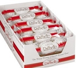 Ferrero Raffaello Candy, 3-Piece Packs (Pack of 12)
