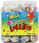 Smarties Mega Double Lollies Tub, (Pack of 60)