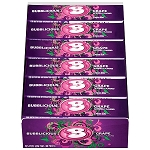 Bubblicious Grape, 5-Piece Packs (18 Pack)