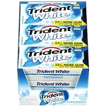 Trident White Peppermint (Pack of 9)
