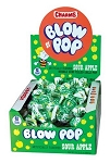 Charms Sour Apple Blow Pops, (48 Pack)
