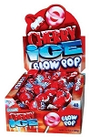 Charms Cherry Ice Blow Pops, (48 Pack)