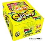 Bon Bon Boom Sour Lollipops, (Pack of 288)