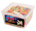 Trolli Sour Brite Crawlers, 63 Ounce Tub