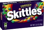 Skittles Darkside Candy Movie Size Box, (Pack of 12)
