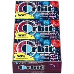 Orbit Wildberry Remix Gum, (Pack of 12)