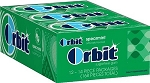 Orbit Spearmint Gum, (Pack of 12)