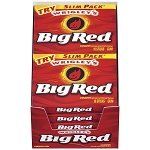 Big Red Gum Slim Pack, (Pack of 10)