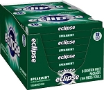 Eclipse Spearmint Gum, (Pack of 8)