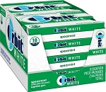 Orbit White Spearmint Gum, (Pack of 8)