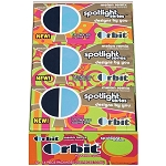 Orbit Spotlight Melon Remix Gum, (Pack of 12)