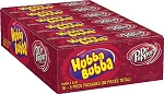 Hubba Bubba Dr. Pepper Bubble Gum, (Pack of 18)