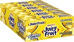 Juicy Fruit Bubble Gum, (Pack of 18)