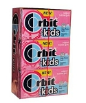 Orbit Kids Bubble Gum, (Pack of 12)