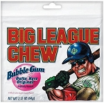 Big League Chew Original Gum, (Pack of 12)