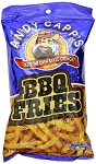 Andy Capp Barbecue Fries, 3 Oz (12 Pack)