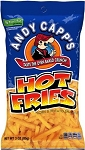 Andy Capp Hot Fries, 3 Oz (12 Pack)