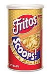 Fritos Scoops 5.5 Ounce Canisters, (Pack of 12)