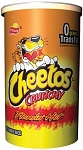 Cheetos Flamin Hot 4.25 Ounce Canisters, (Pack of 12)