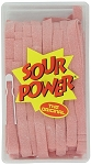 Sour Power Loose Pink Lemonade Candy Belts, (Pack of 150)