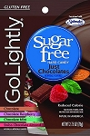 Go Lightly Sugarfree Just Chocolates Candy, 2.75 Ounce Bags, (Pack of 12)
