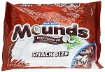 Mounds Snack Size Candy Bars, (Pack of 12)