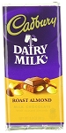 Cadbury Roasted Almond, 3.5 Oz (14 Pack)