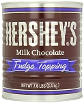 Hersheys Milk Chocolate Fudge Topping, 7.6 Pounds