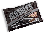 Hersheys Milk Chocolate Snack Size Candy Bars, (Pack of 12)