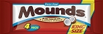 Mounds King Size Candy Bars, (Pack of 18)