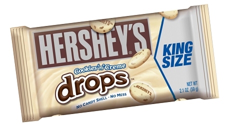 Hersheys Cookies and Cream Drops King Size Candy Bars ...