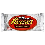 Reeses White Peanut Butter Cups, (Pack of 24)