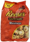 Reeses Peanut Butter Cups Miniatures, 40 Ounces