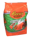 Reeses Peanut Butter Footballs 38 Ounce Bag