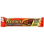Reeses Crispy Crunchy King Size Candy Bars, (Pack of 18)