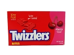 Twizzler Cherry Bites Candy Movie Size Box, (Pack of 12)